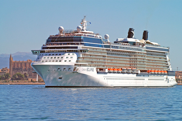 Celebrity Eclipse llega a Buenos Aires